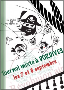 Affiche du tournoi 2013 - edition Pirates
