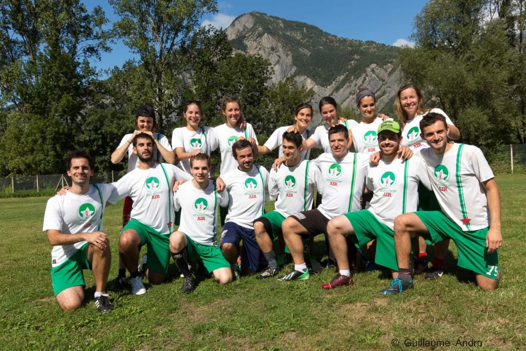 L'équipe Révo du BO 2015